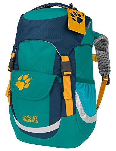 Jack Wolfskin Unisex Jugend Kids Explorer 16 Wanderrucksack für Kleinkinder, Green Ocean, ONE Size