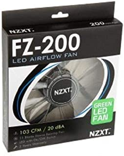 NZXT FZ LED 200mm LED Airflow Fans Green