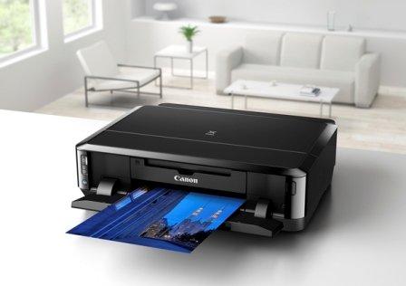 Canon PIXMA iP7250 Tintenstrahldrucker - Ohne KOPIERER Ohne Scanner- WLAN Duplex USB - inkl. 2 kompatiblen Tintensätzen (10 Patronen) und USB Kabel