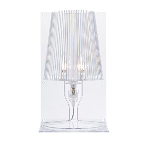 Kartell 9050B4 Take - Lámpara para mesa de noche, transparente