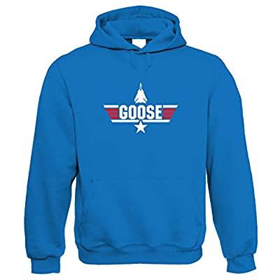 Men's Top Gun Goose Hoodie, Blue. Other colours available