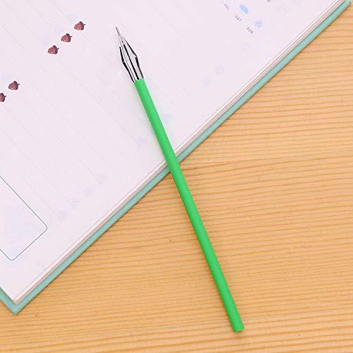 100 Sticks Frische Farbe 0.38Mm12 Farbe Nachfüllung Koreanische Version Von Kreativen Schreibwaren Diamantkopf Neutralen Stift D 0.38Mm
