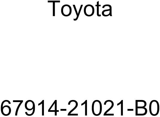 Ranking TOP20 TOYOTA Genuine 67914-21021-B0 Scuff Seasonal Wrap Introduction Plate Door
