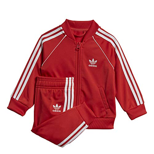 adidas Originals Superstar Suit Set Kleinkind Anzug rot (68)