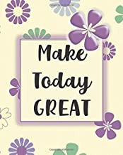 Make Today Great: Anti Anxiety Journal Notebook - Daily Guided Prompts, CBT for Thought Changing, Positive Affirmation Quotes, Worksheets for ... Emotions, Negative Feelings, and Worry