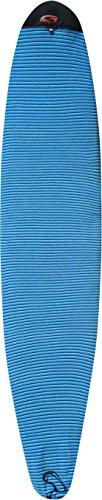 SOLA Mal Board Mini Socke 8ft, Unisex, Mini Mal Board, blau gestreift, 243 cm
