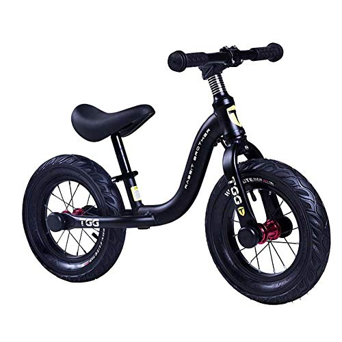 MYRCLMY Niños Bicicleta De Equilibrio, Sin Pedal De Bebé Mini Bicicletas, Paseo En Vespa, 12