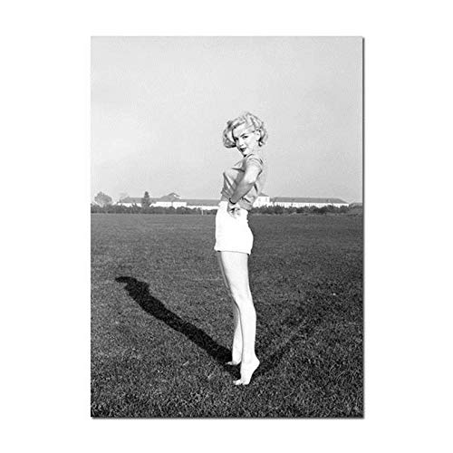 Marilyn Monroe Leinwand Malerei Sexy Lady Frauen Poster und Drucke Quadros Wandkunst Bild für Wohnzimmer Wohnkultur Cuadros A5 70x105CM (kein Rahmen)