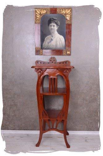 Vintage Konsole AUS Mahagoni Holz FLORALER JUGENDSTIL Regal Palazzo Exklusiv