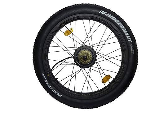 MXUS Fitifito Fatbike FT26 achterwiel, compleet met banden en velg
