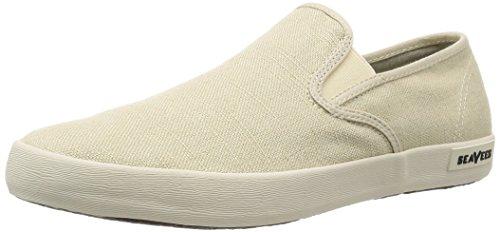 SeaVees Men's Baja Slip On Standard Casual Sneaker,Natural,9.5