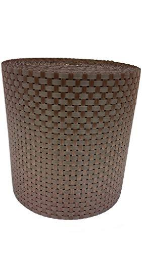 Jinju Kupfer 30 x 0,19m Polyrattan Sichtschutzstreifen 78729 Balkonsichtschutz, Windschutz, Balkonblende, Garten Sichtschutz, (Kupfer)