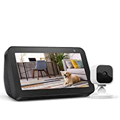 """This bundle contains the Echo Show 5 and Blink Mini. Alexa can show you more – Compact 5.5"""" smart display ready to help manage your day, entertain at a glance, and connect you to friends and family. Watch movies, news, and TV shows. Listen to songs, ..."""