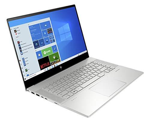 HP Envy 15-ep0011na 15.6-inch Full HD Touchscreen Laptop Natural Silver - Intel Core i7-10750H, NVIDIA GeForce GTX 1660 Ti, 6 GB Dedicated Graphics, 16 GB RAM, 512 GB SSD, Windows 10 Home