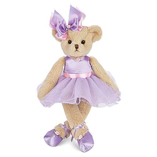 """Bearington Tootsie Tutu Plush Stuffed Animal Ballerina Teddy Bear 15"""""""