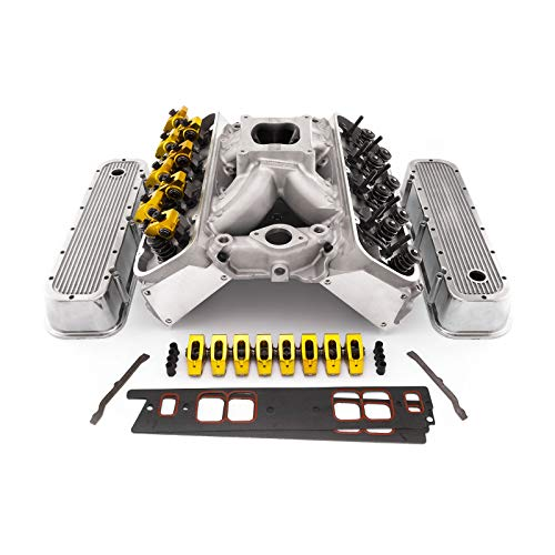 PCE by Speedmaster PCE435.1071 Fits Chevy BBC 454 Hyd Roller Cylinder Head Top End Engine Combo Kit