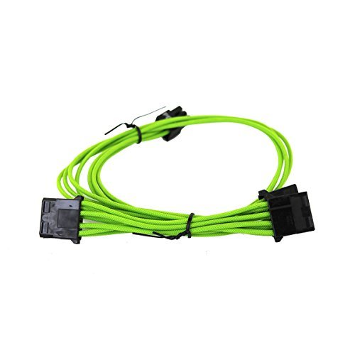 EVGA Green 1000-1300 G2/P2/T2 Power Supply Cable Set, Individually Sleeved (100-G2-13GG-B9)