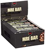 Redcon1 MRE Bar - Meal Replacement Bar (1 Box / 12 Bars) - Crunchy Peanut Butter Cup - Animal Based Protein, 20G Protein, No Bloating, Real Food Taste