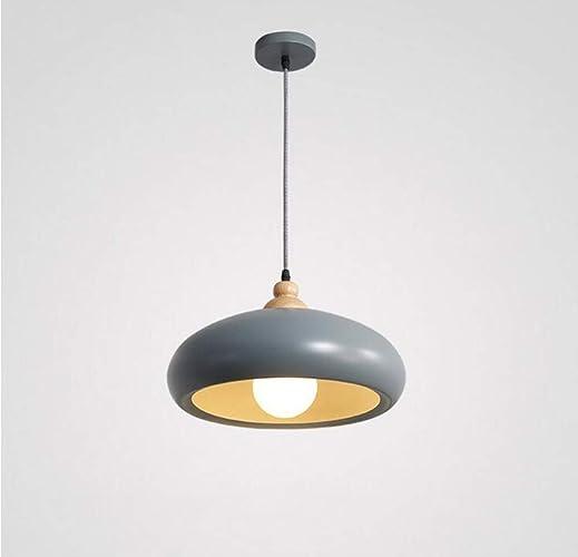 Chandelier moderne simple salle à hommeger chambre personnalité créatrice café bar éclairage (couleur  gris)