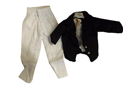 Ken Homme d'action GI Joe Poupée Vêtement vêtement Noir Bicolore Soir Costume vêtement & Chaussures Posté de Londres par Fat-CATZ