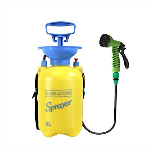 QHWJ Wasser Sprühflasche Sprayer Camping Dusche mit abnehmbarem Schlauch und Duschkopf für Camping Outdoor-Reise Wandern und Tier Bathe