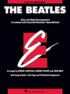 The Beatles: Essential Elements for Band Correlated Collections Piano Accompaniment