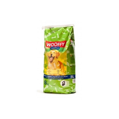 Pienso para perro Wooffy Sensitive 18 kg.