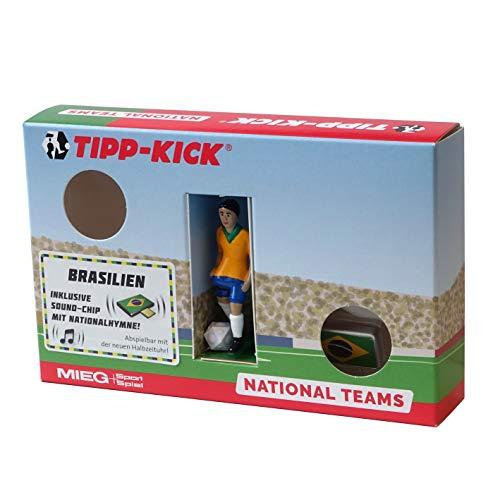 Tipp Kick 031124 - Star - Kicker Brasilien in Torwandbox mit Hymne