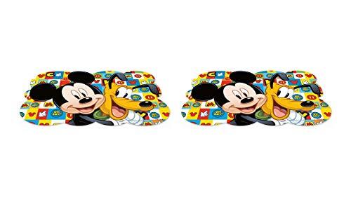 2462; pak 2 placemats Disney Mickey Mouse en pluto; afmetingen 43x29 cm; plastic product; Geen BPA