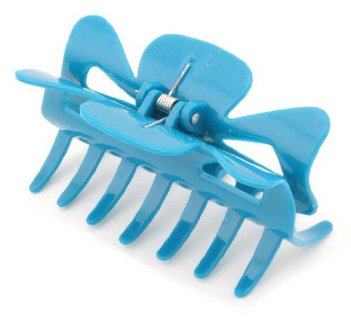 Zest 9 cm de large Acrylique Pince à cheveux accessoire Bleu sarcelle Turquoise