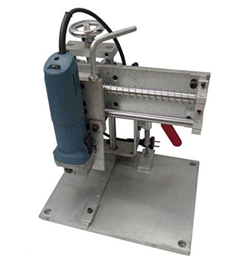 MXBAOHENG Handleiding Buigen Slot Snijmachine Gereedschap voor Metalen Kanaal Letters Max Snijbreedte 15cm