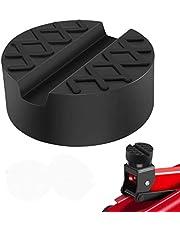 SXYHKJ Goma Gato Hidraulico revestimient de Goma Universal Protector para Elevador Coche - Negro