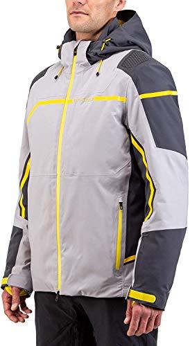 Spyder Herren Titan GTX I Wintersport-Jacke aus Gore-Tex I wasserdicht und atmungsaktiv Skijacke, Alloy, XL