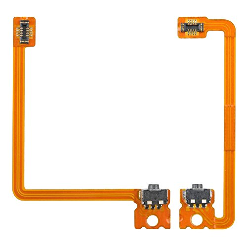 Gam3Gear L R Left Right Shoulder Trigger Button Switch Flex Cable Set for Nintendo 3DS XL