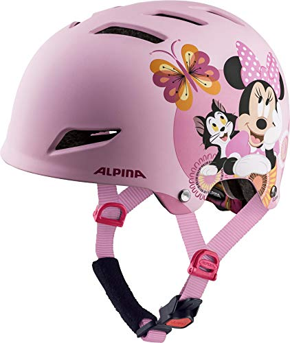 ALPINA PARK JR. Fahrradhelm, Kinder, Disney Minnie Mouse, 51-55