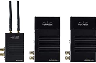 Teradek Bolt 500 XT SDI/HDMI Wireless Deluxe Kit with Transmitter and 2X Receivers, Up to 500' Line of Sight, Gold-Mount