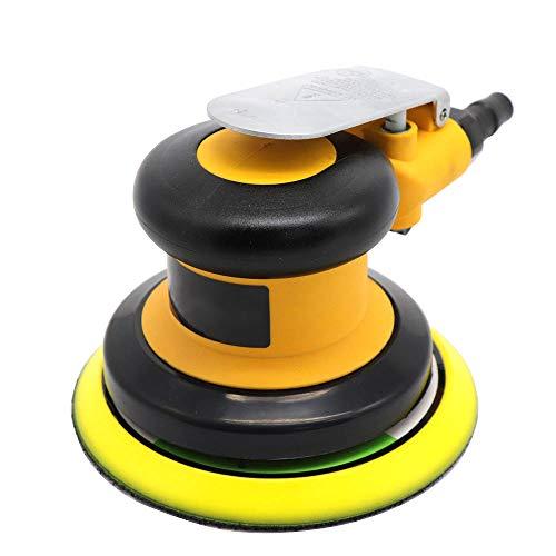 EastMetal Lijadora Mouse Máquina Lijadora Compacta 12000RPM, Neumático Lijadora Orbital, con Recolección de Polvo, para Espacios Reducidos Lijado en la Decoración del Hogar
