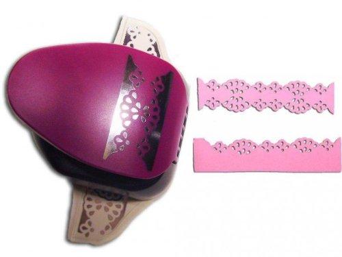 efco 2Funktionen Bordüre Doily Spitze, Pink, 2Zoll/5,1cm