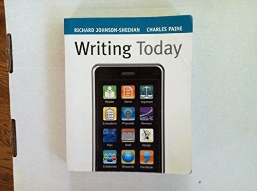 Writing Today Johnson- Sheehan (Writing Today Johnson-...
