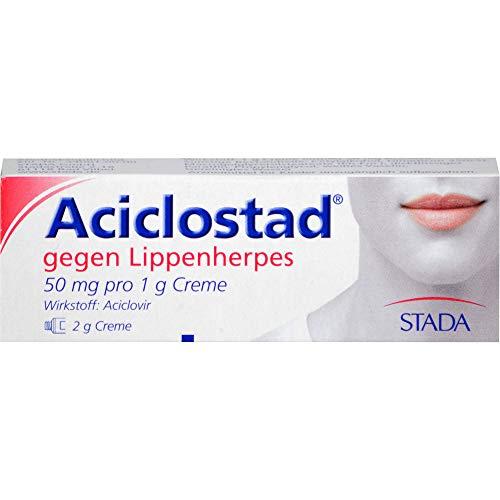 Aciclostad Creme gegen Lippenherpes, 2 g Creme