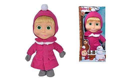 Simba 109301006 Bambola Masha Inverno