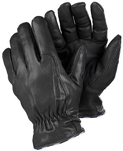 TEGERA 8155 Lederhandschuh wasserabweisend für allgemeine Arbeiten 9 Schwarz