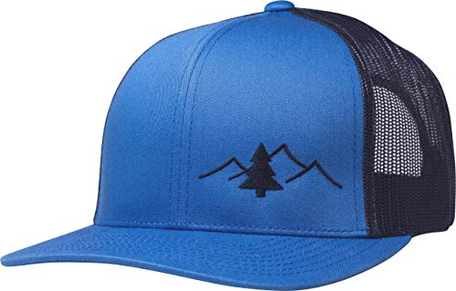 Lindo Trucker Hat - Great Outdoors Collection (Blue/Charcoal)