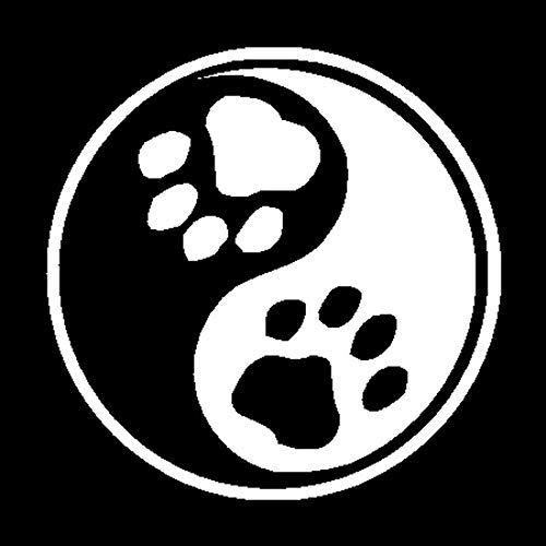 SHMAZ 12,7 * 12,7 Cm Calcomanía De Pata De Perro Personalizada con Estilo De Coche Pegatinas De Decoración De Ventana