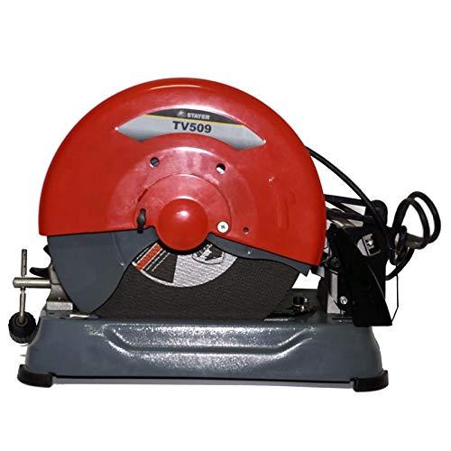 STAYER 1.5860 - Tronzadora para metal disco abrasivo 355 mm 2400W 3800 rpm 18,2 Kg TV 509