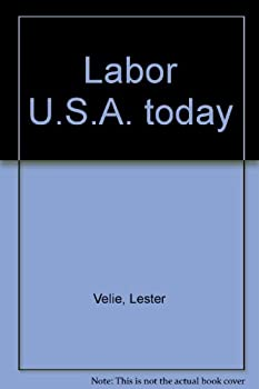 Hardcover Labor U.S.A. Today Book