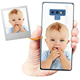Coverpersonalizzate.it Coque Personnalisable pour Samsung Galaxy Note 9 avec ta Photo, Image ou...