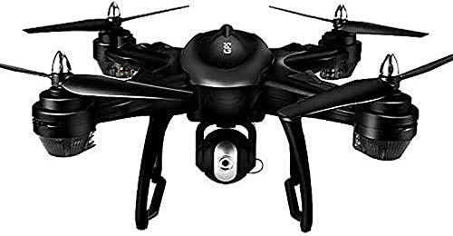 aipipl Drone, 90 Grados;Cámara ESC, UAV de posicionamiento GPS, Vuelo de Punto Fijo de teléfono móvil, 2 velocidades, transmisión de imágenes en Tiempo Real, batería de 2500mA, cuadricóptero RC, e