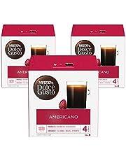 Nescafe Dolce Gusto Americano American Coffee Capsules (48 Capsules, 48 Cups)