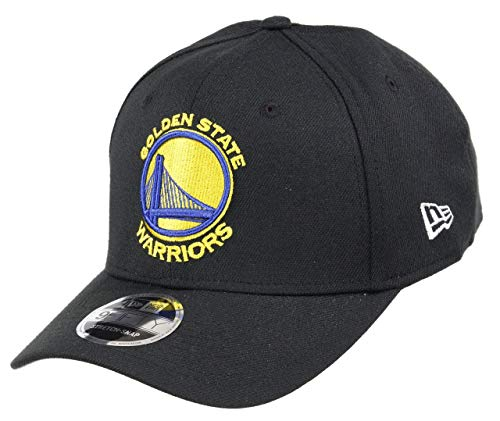 New Era Golden State Warriors 9fifty Stretch Snapback Cap NBA Essential Black - One-Size